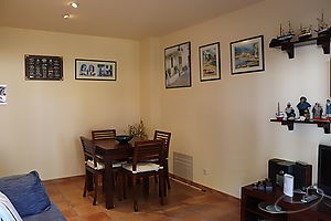 Semi-new apartment in the center of Calella de Palafrugell.