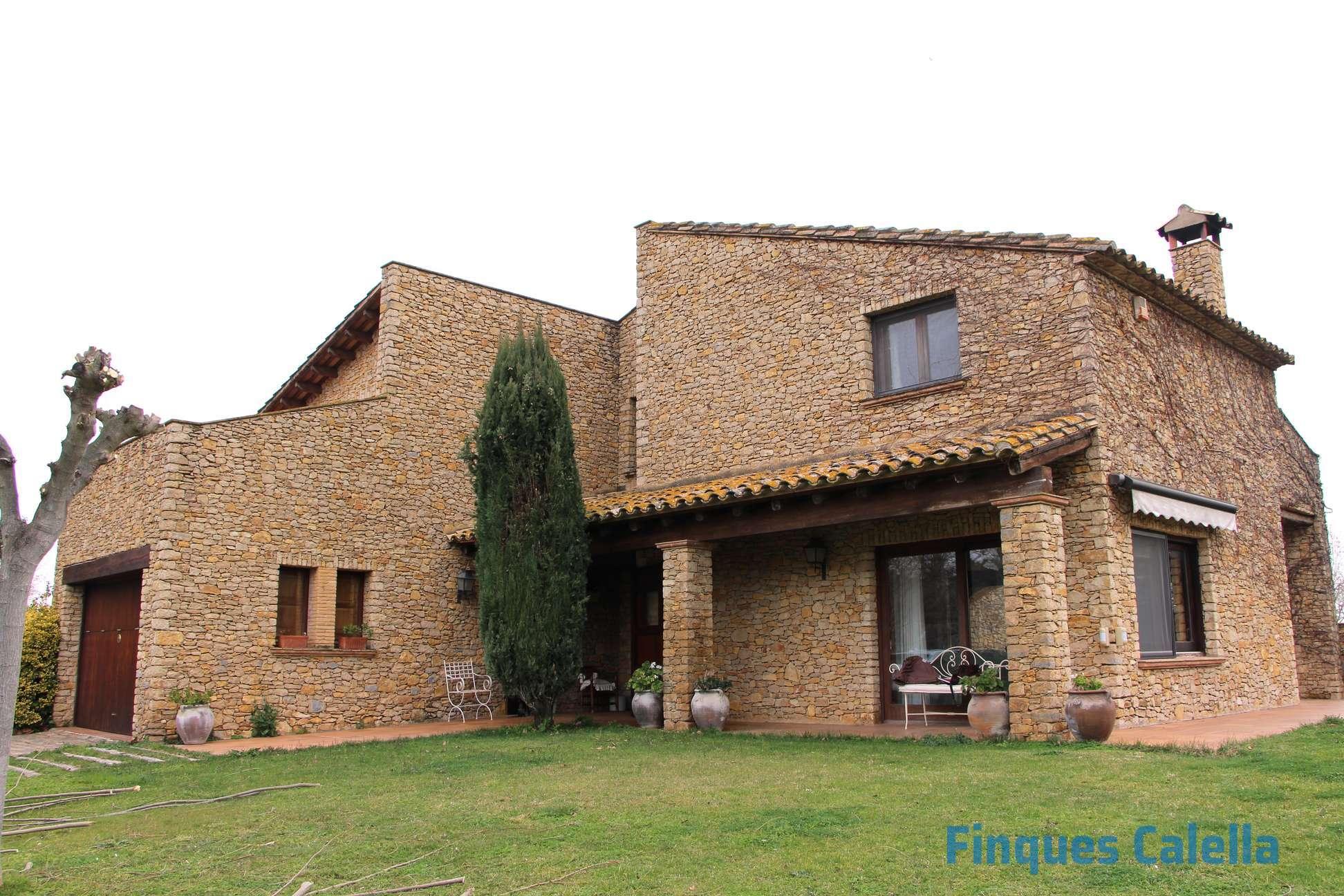 maison rustique finca costa brava pierre piscine masia charme